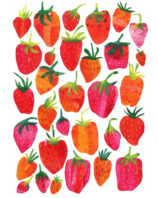 a poem about strawberries